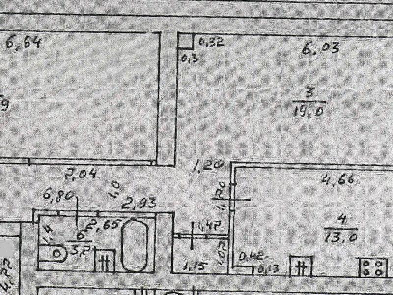 двухкомнатная квартира в Плотничном переулке дом 17