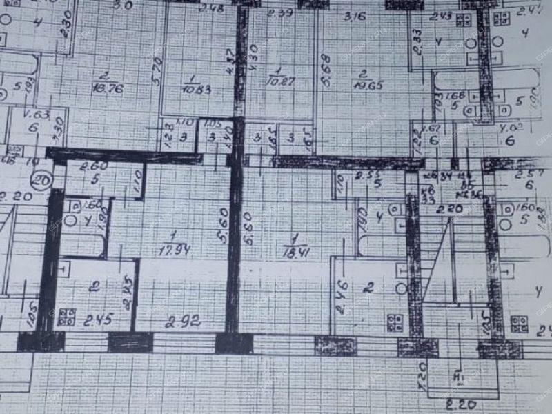 двухкомнатная квартира на улице Новая дом 14 посёлок Мулино