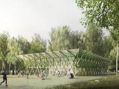 Каким будет спортцентр в парке «Швейцария»?