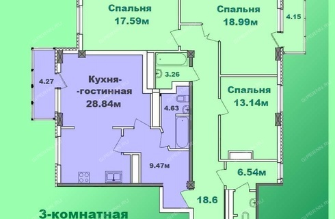 3-komnatnaya-na-peresechenii-ulic-osharskaya-i-respublikanskaya фото