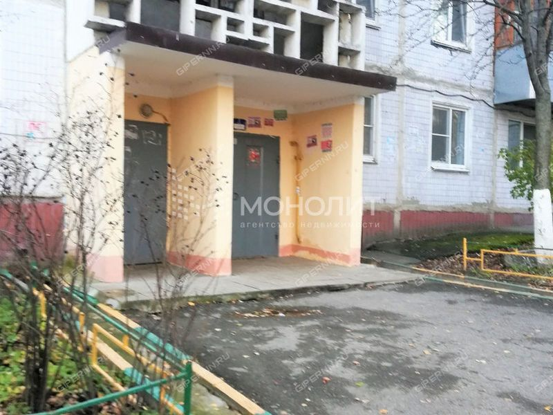 двухкомнатная квартира на улице Маршала Рокоссовского дом 2