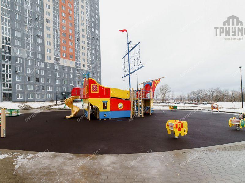 трёхкомнатная квартира на  дом 7 деревня Анкудиновка
