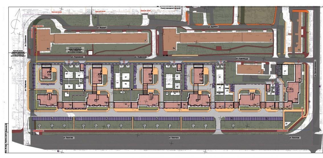 строительство нового ЖК на Бекетова в Нижнем Новгороде