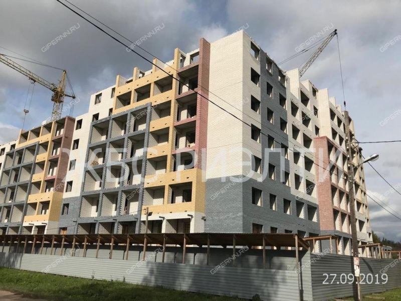 двухкомнатная квартира в новостройке на в границах улиц 8-е марта, Достоевского, Рабфаковская, Болотная, дом №1