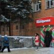 Здание «Ростелекома» приспособили для продажи молока и колбасы