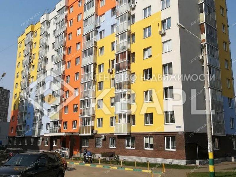 двухкомнатная квартира на улице Народная дом 54